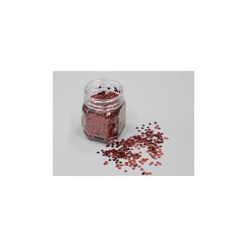 BOITE PAILLETTE ETOILE_6mm_ROUGE_80gr_225610_NL-7630