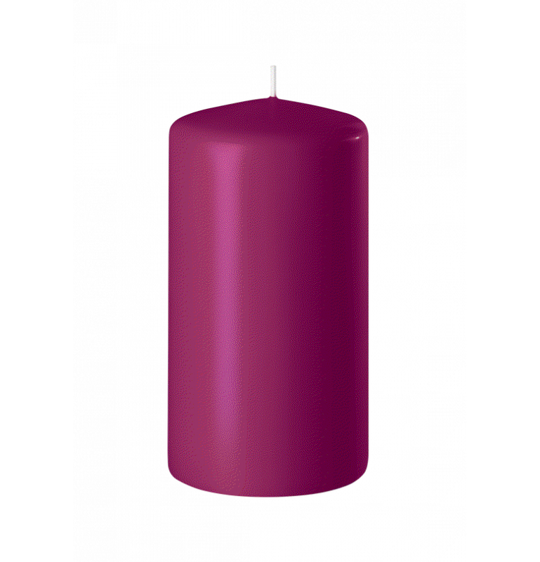 BOUGIE CYLINDRIQUE 120/60 x12_FRAMBOISE_SAFE CANDLE_8-T12060-12