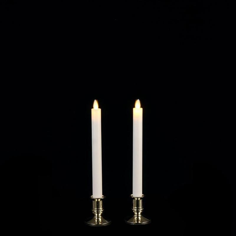 BOUGIE LED_FONCTIONNE SUR BATTERIE_BLANC CHAUD_1051869