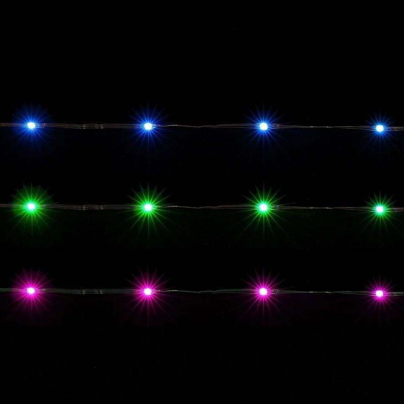 Cordon lumineux 100 leds en 10 mètres