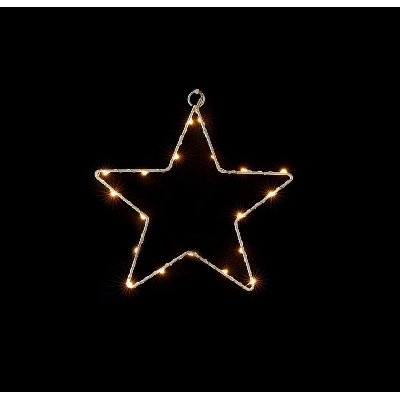 Étoile lumineuse 19 leds