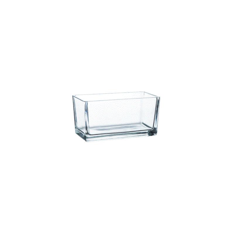 Jardiniere verre 15,2x8x7,7cm Transparent