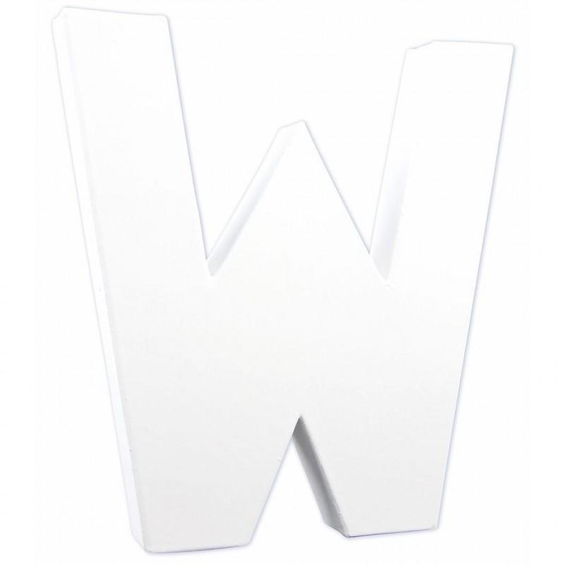 "LETTRE ""W"""