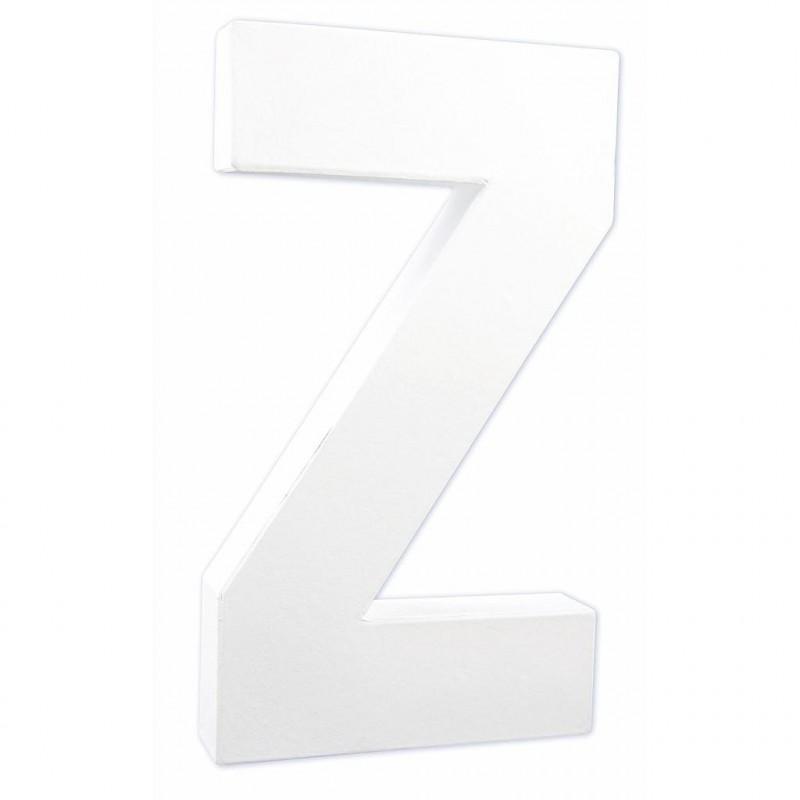 """LETTRE """"Z"""" H20 cm"""