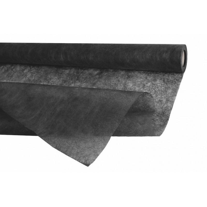 ROULEAU FIBRE MISTRAL NOIR 0,75cm x20m_647544
