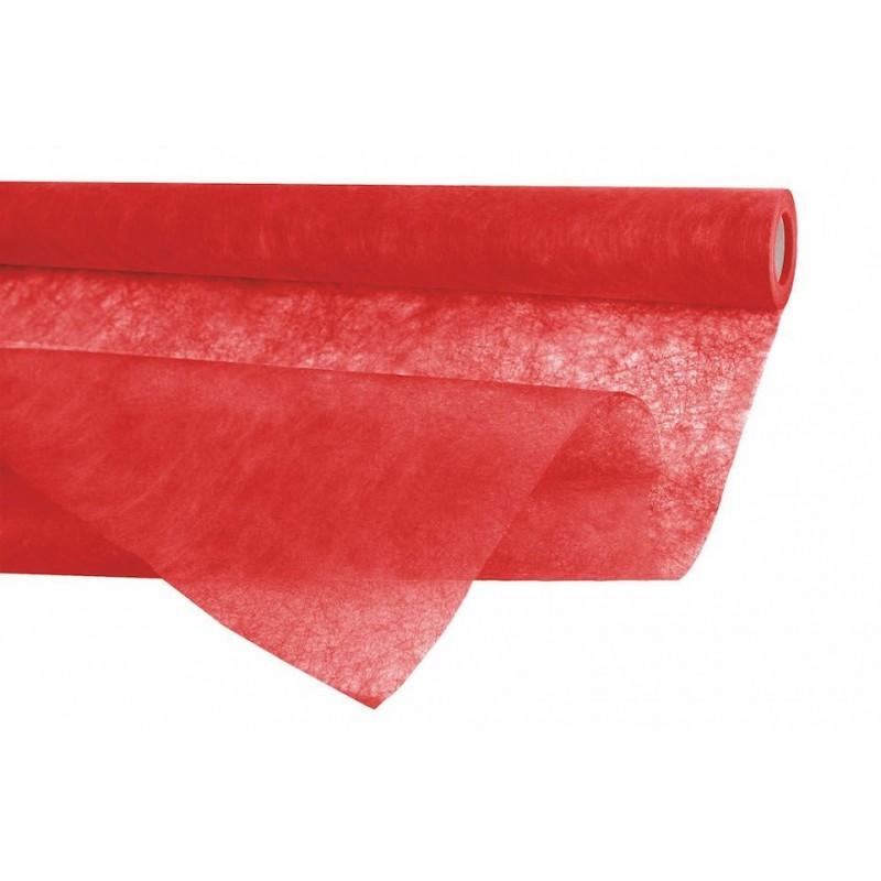 Rouleau fibre mistral en rouge 0,75 cm x 20 m