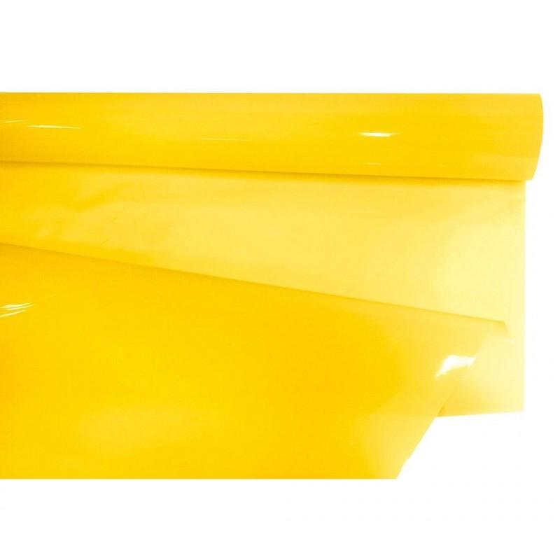 Rouleau papier bulle jaune en 35 microns 0,80X40m