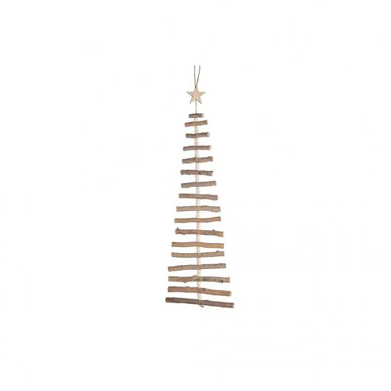 Sapin en bois à suspendre 90x36 cm