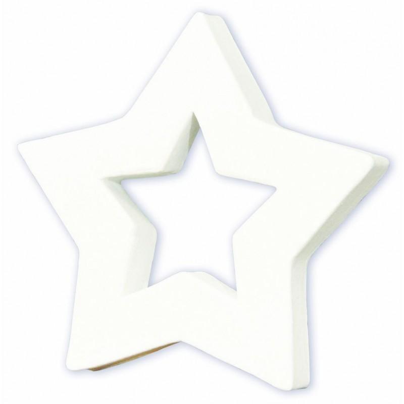 Symbole étoile ouverte