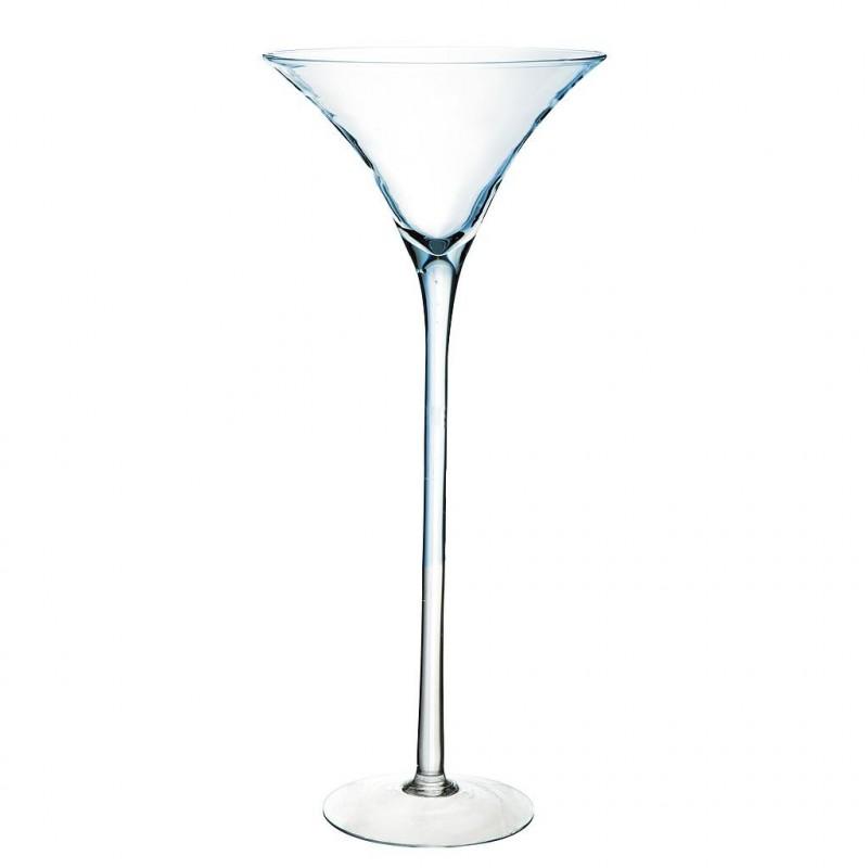 Vase Martini Verrerie ø30cm H70cm Transparent