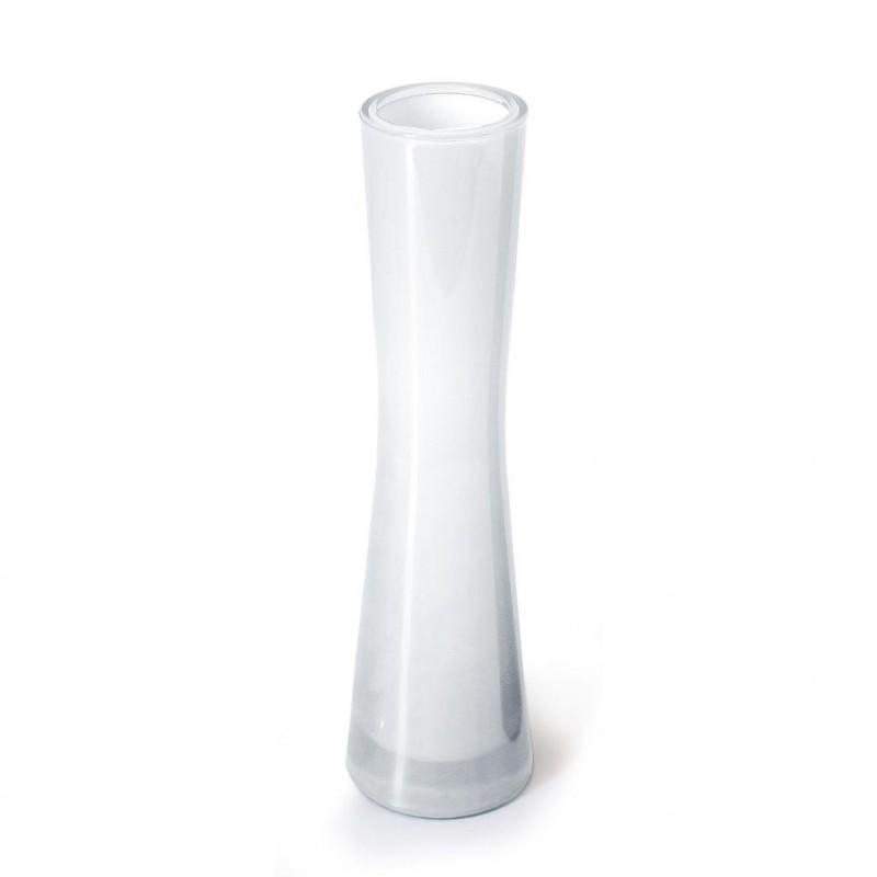Vase Solaflor H20cm Blanc Soliflor