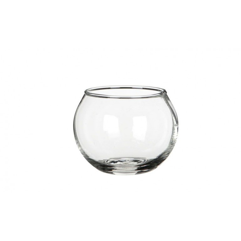 Globe en verre transparent ø6,7 H5,3cm
