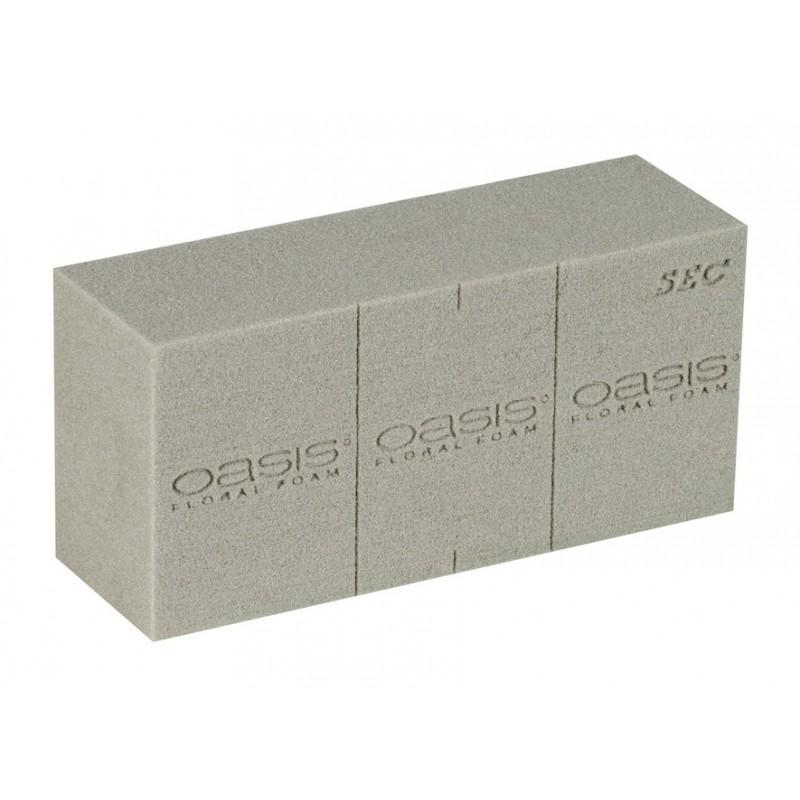 Mousse florale pour fleurs artificielles, séchées ou stabilisées Carton de 20 briques