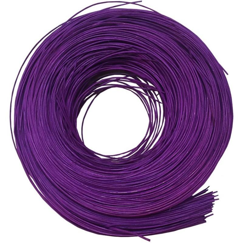 Rotin fin holzminido violet 250g