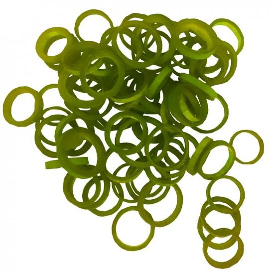 Anneau en bambou / Canna ring vert Ø 5/6cm