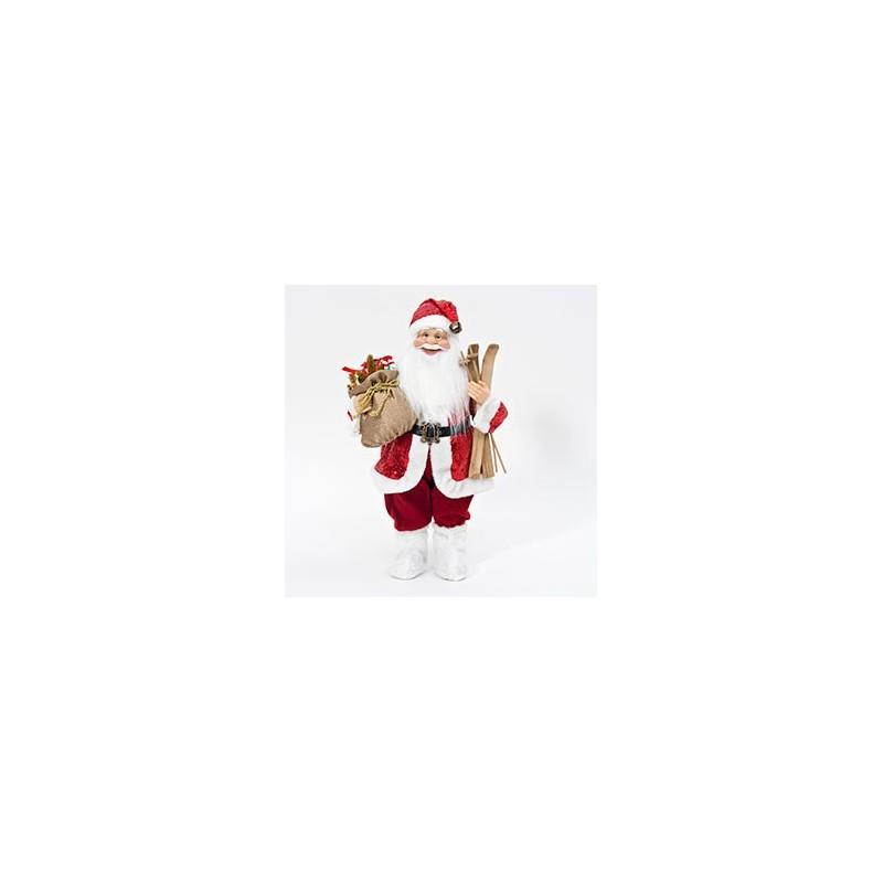 Père Noël figurine en 45 cm
