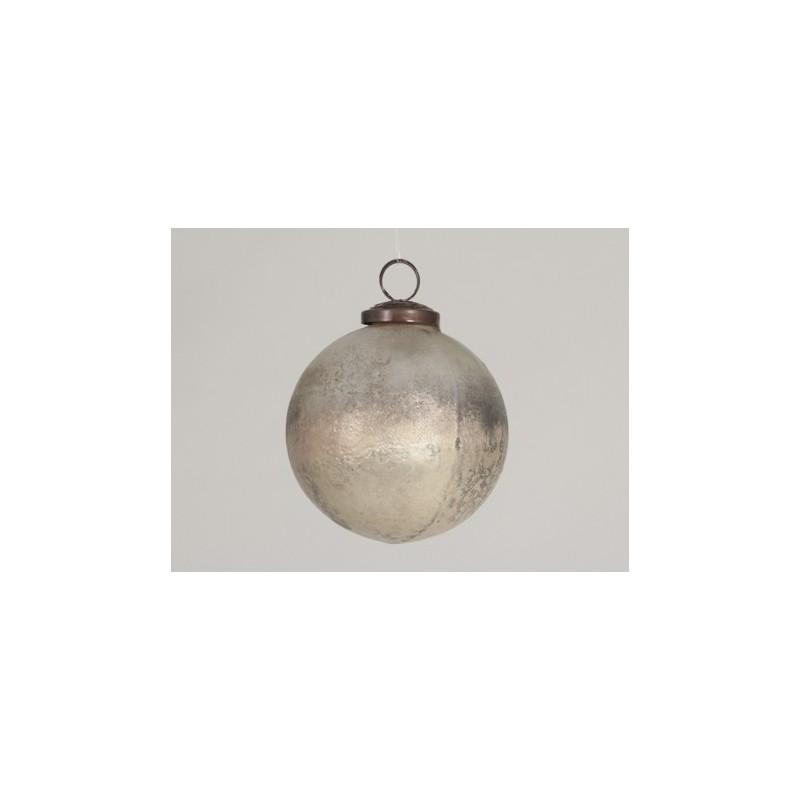 Boule de Noël ø100mm en brun naturel