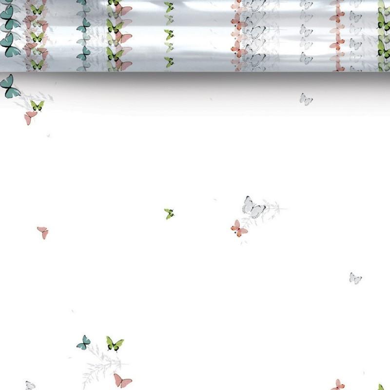 ROULEAU POLYPRO IMPRIME FARFALLA 0.60x120M 35MIC