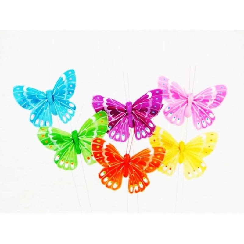 Pic papillon assortiment de 12 pièces