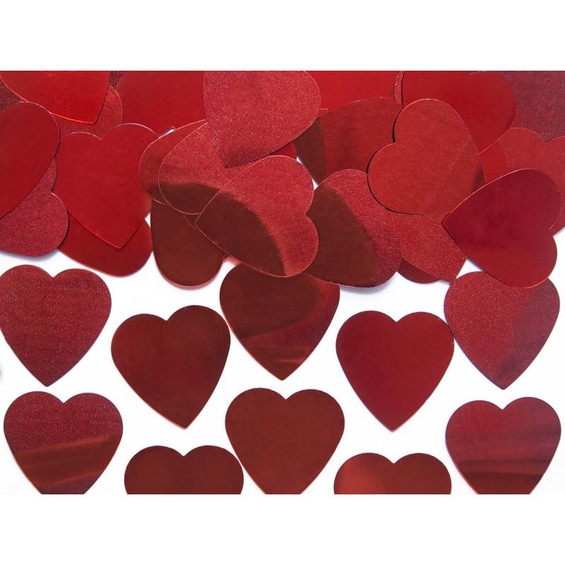 Confetti coeur rouge sachet de 10g
