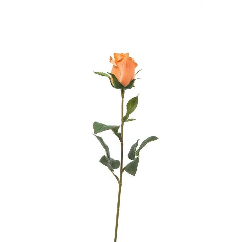 BOUTON DE ROSE ORANGE ARTIFICIEL_68cm_A17716_24