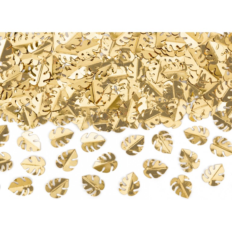 Confetti métal feuille de monstera sachet de 15 g