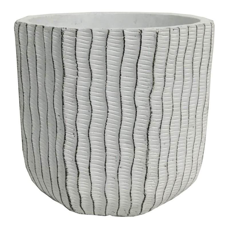 Cache pot en ciment  ø11,5 H11cm