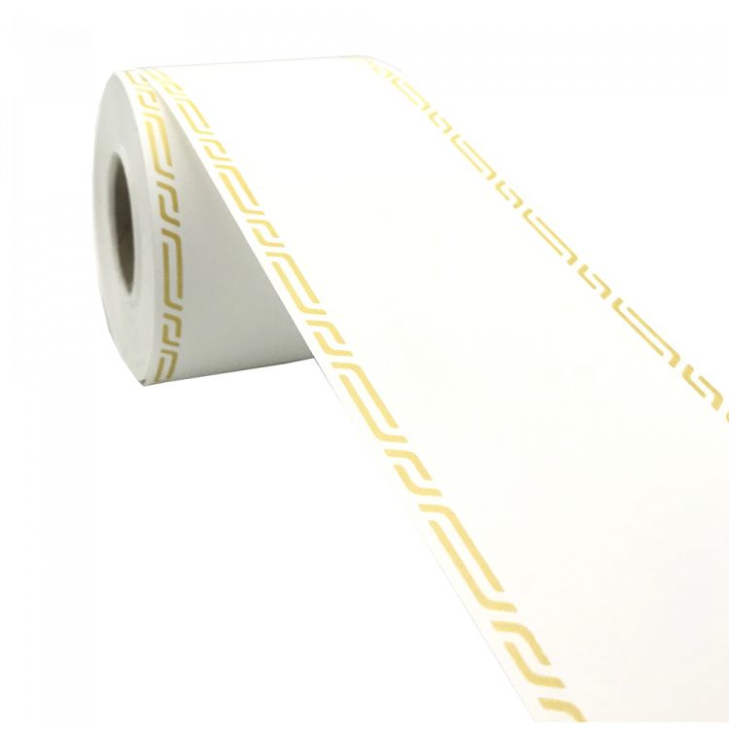 Ruban deuil 75mm x45m Blanc