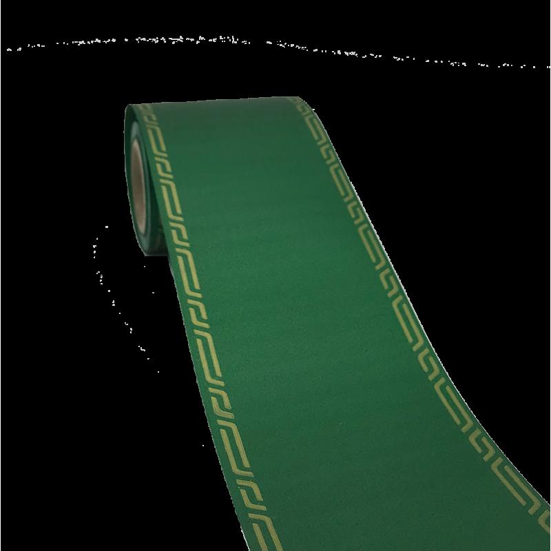 Ruban deuil 75mm x45m Vert foncé