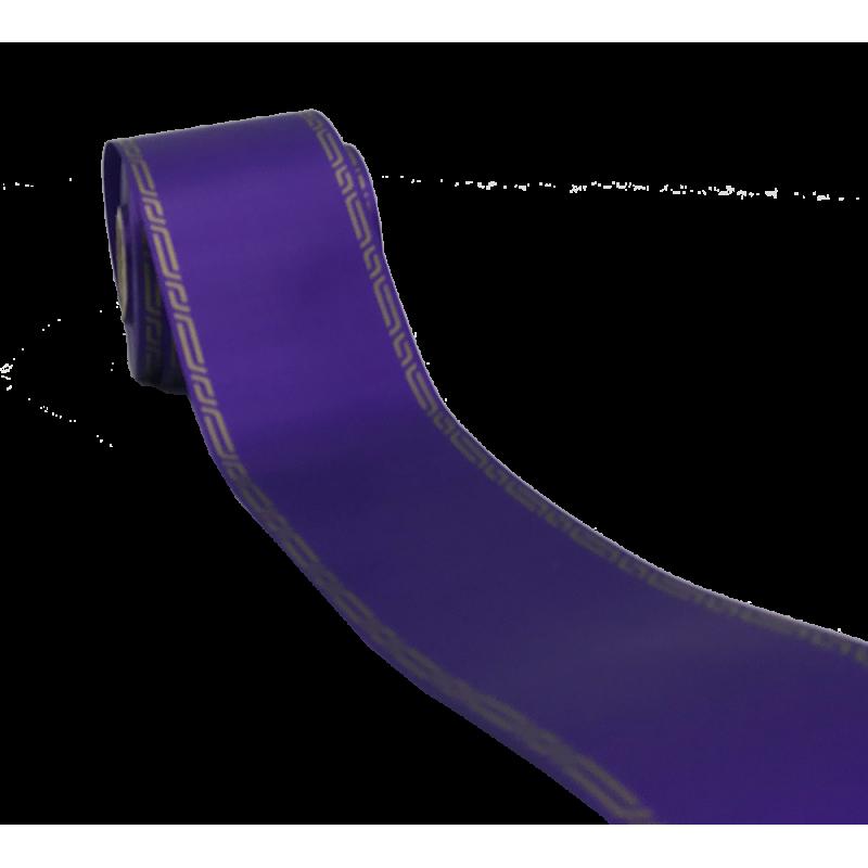 Ruban deuil 75mm x45m Violet