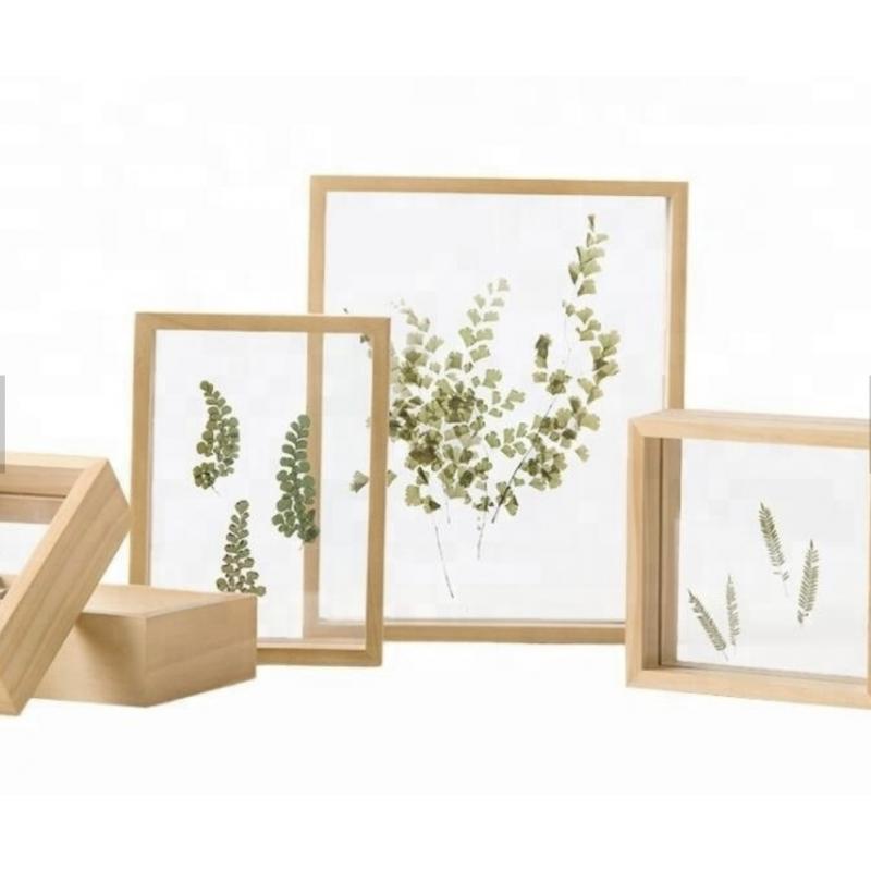 Cadre photo en bois à personnaliser  13,7x18,8cm