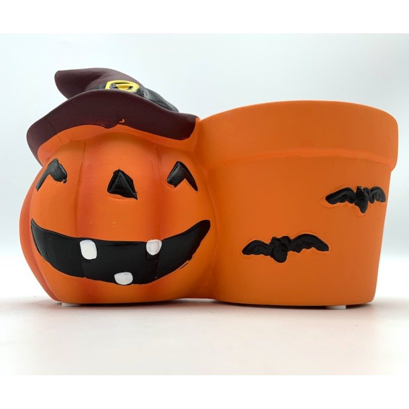 Pot citrouille d'Halloween