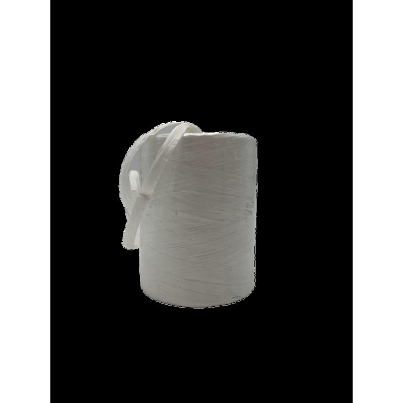 Raphia naturel blanc 7mm x200m