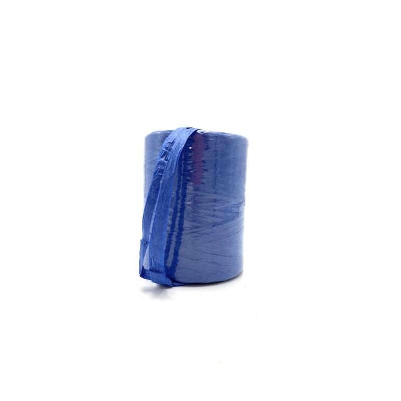 Raphia naturel bleu 7mmx200m