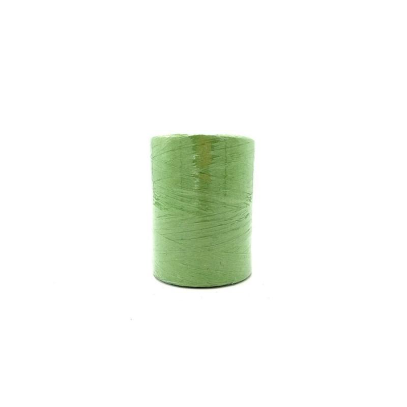 Raphia naturel vert 7mmx200m