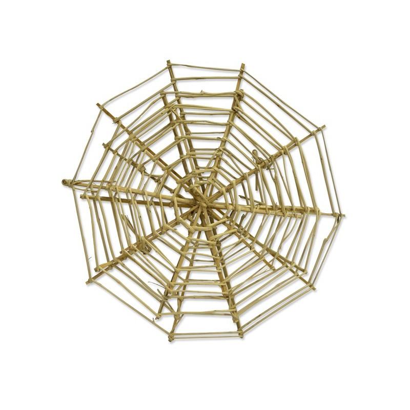 Toile d'araignée coloris naturel par 3 unités