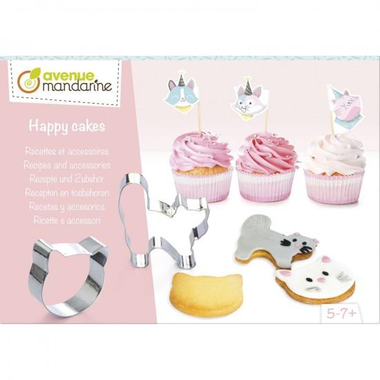 boîte créative - happy cakes chat
