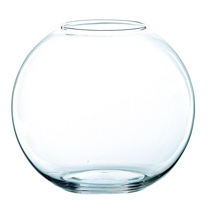 Globe verre transparent ø 18cm