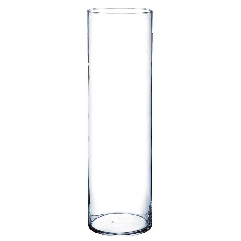 Vase cylindrique Sigma ø15 cm H70cm