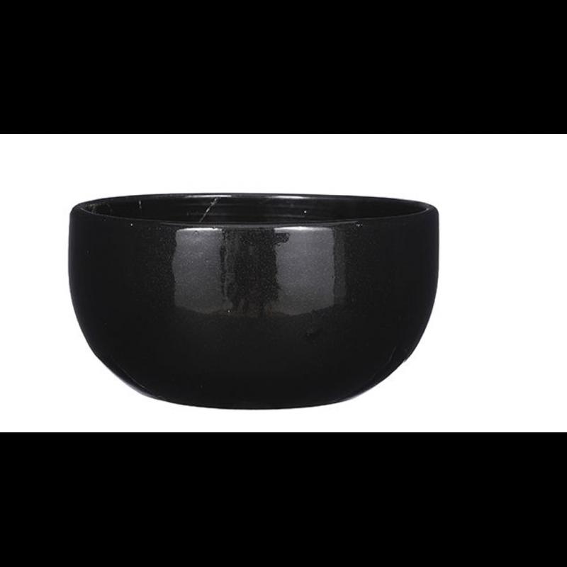 Coupe céramique Noir H14cm ø29cm