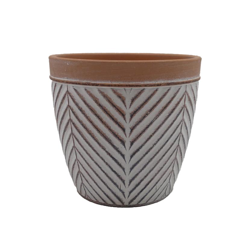 Cache pot Terracotta ø13,5cm H12,7cm