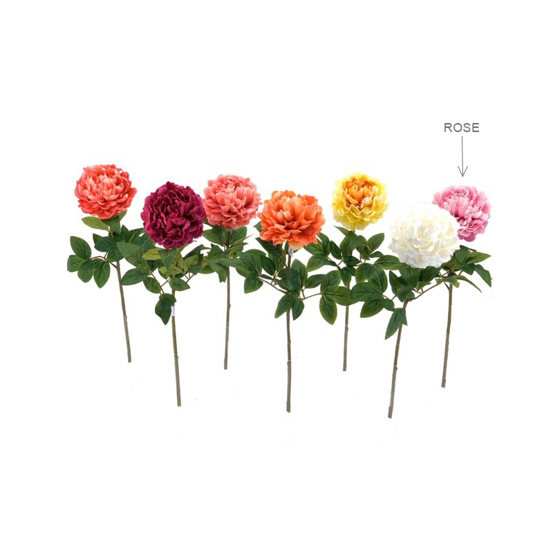 Pivoine artificielle Rose