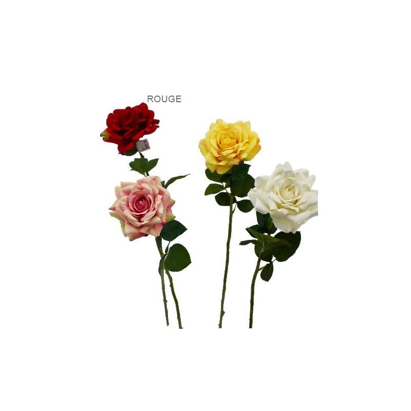 Rose artificielle Rouge