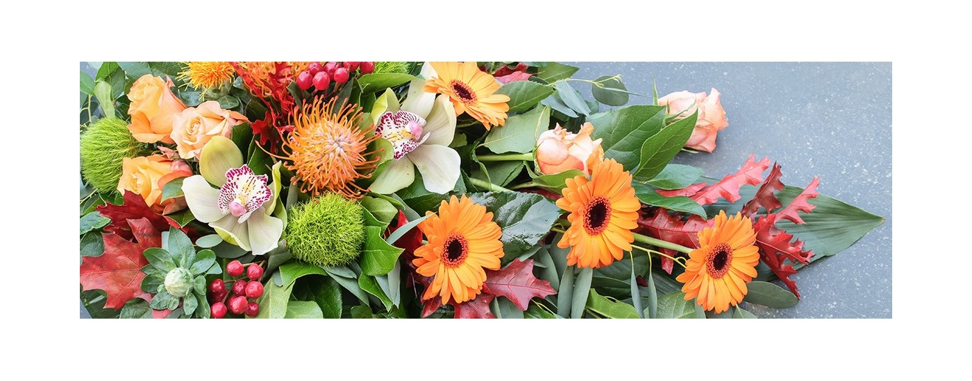 Compositions florales funéraires