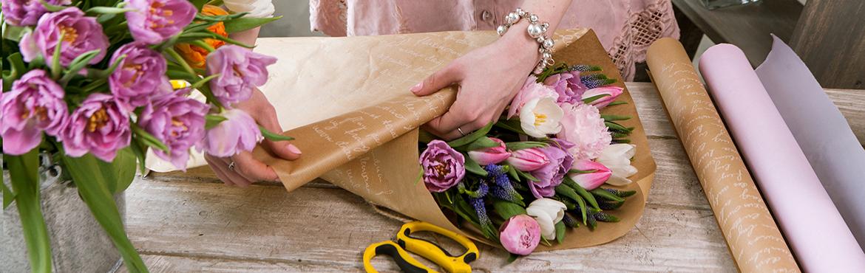 Emballages pour fleuristes - Vente en gros