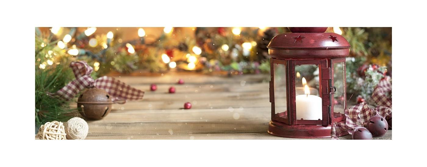 Porte Bougie - Photophore de Noël - lanterne de noel