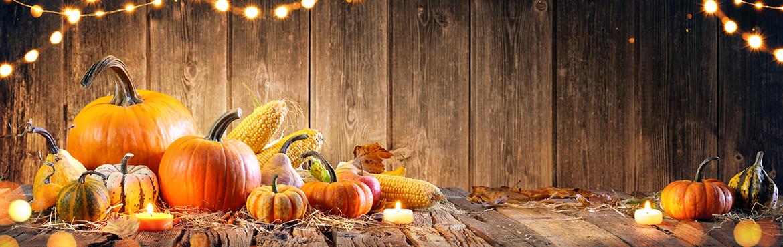 déco d'automne Halloween Dia de los Muertos